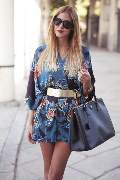 outfits con estampados diseños verano moda