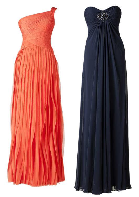 Bellos vestidos largos para invitadas 2014