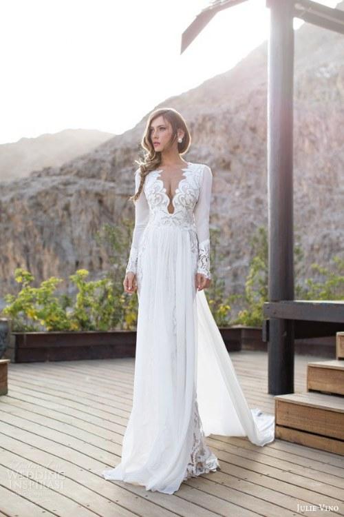 julie vino coleccion vestidos de novia