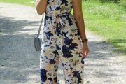 Ten el perfecto outfit y el mejor look con Jumpsuits florales en el Verano 2014