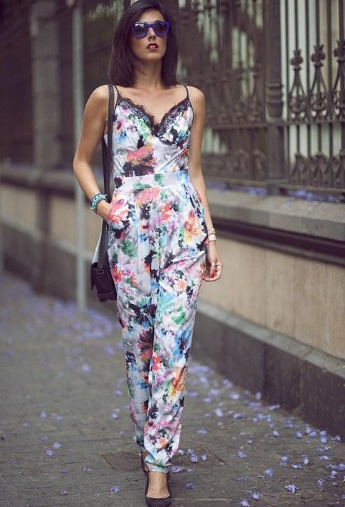 jumpsuits de flores outfits