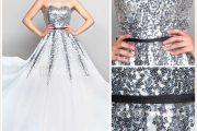 Despampanantes vestidos largos para ir de bodas