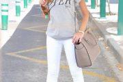 15 maneras para vestir pantalones blancos y tener el mejor look