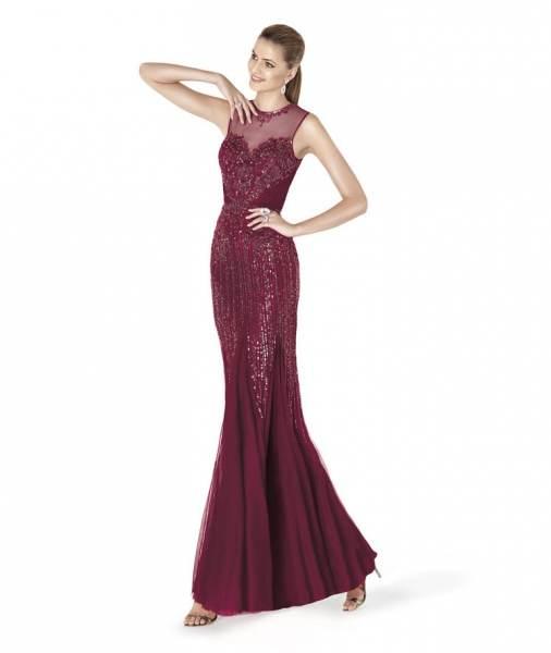 Modelo de vestido de noche 2014