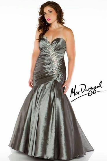 Glamurosos vestidos de quinceañeras gorditas