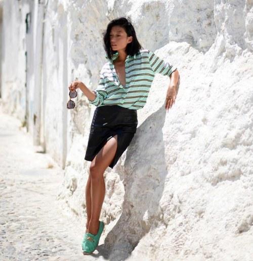 Ponte tu outfit con estampado de rayas en este Verano!