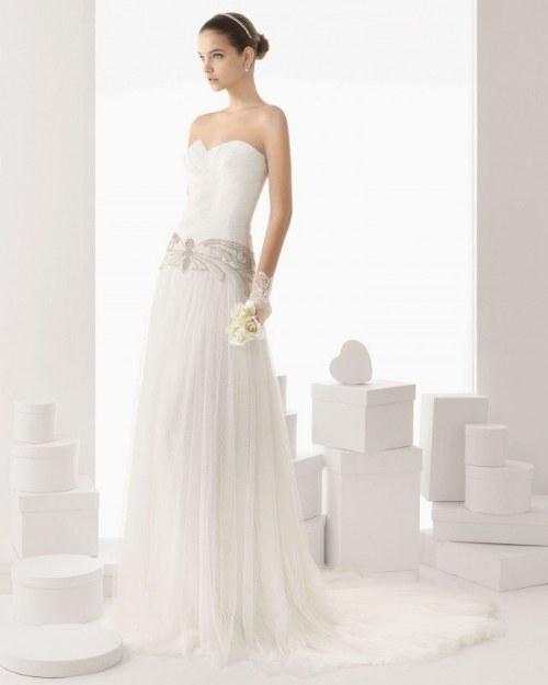 rosa clara vestidos 2014 novia