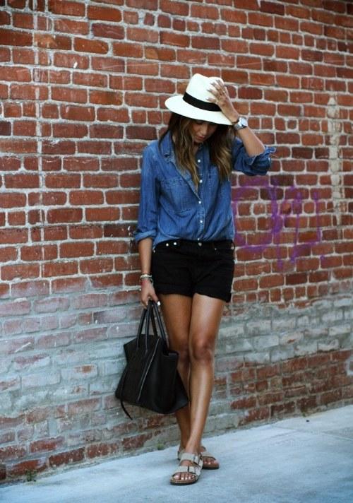 outfits con shorts para verano