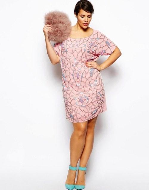 Nueva colección de vestidos de fiesta para mujeres de tallas grandes por ASOS
