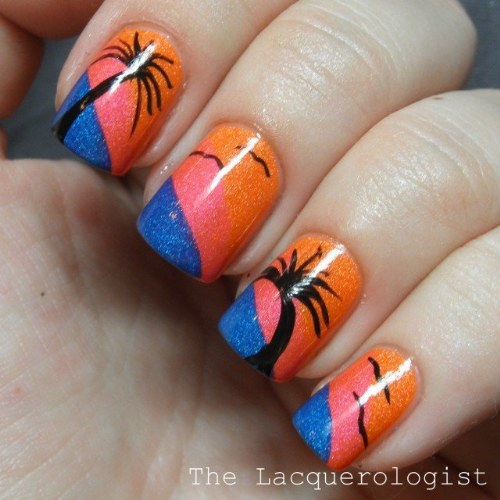 diseños uñas verano