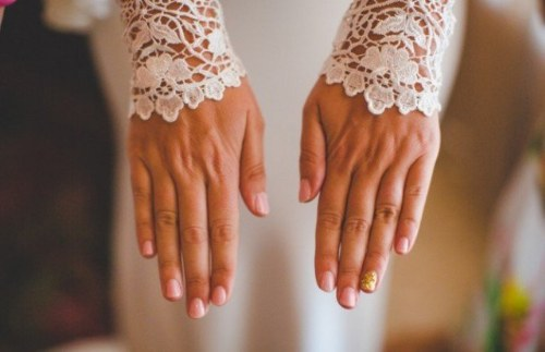 uñas diseños para novias boda