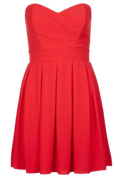 vestidos rojos graduacion