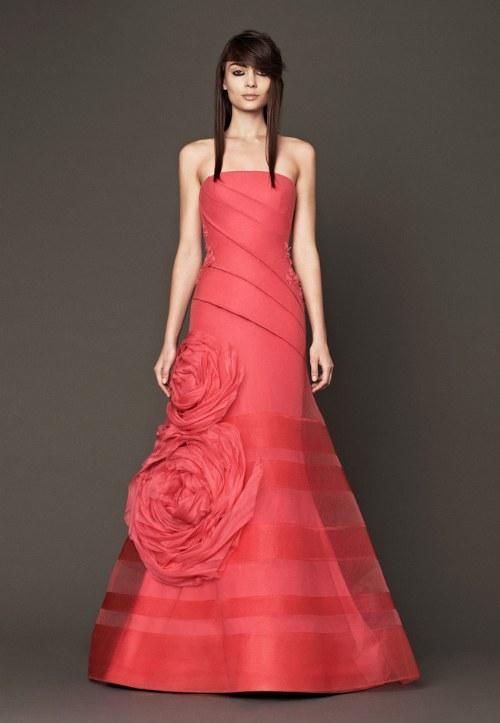 vestidos de novia diferentes colores