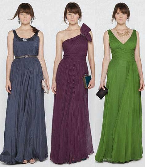 Vestidos largos espectaculares para fiestas 2014 for Vestidos largos adolfo dominguez outlet