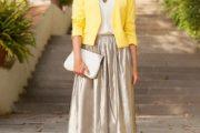 Mantente a la moda y coqueta usando una chaqueta como complemento de tu Outfit
