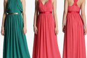 Vestidos largos de diseños espectaculares para ir de bodas