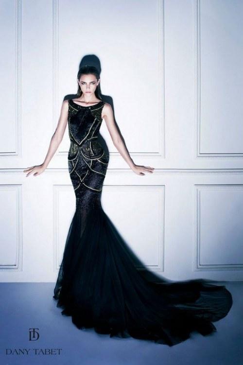 dany tabet noche en moscu otoño invierno moda 2014 vestidos elegantes