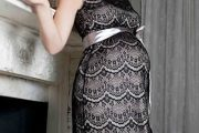 Moda elegante para embarazadas 2014
