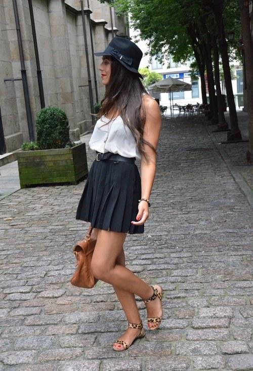 outfits con faldas para verano