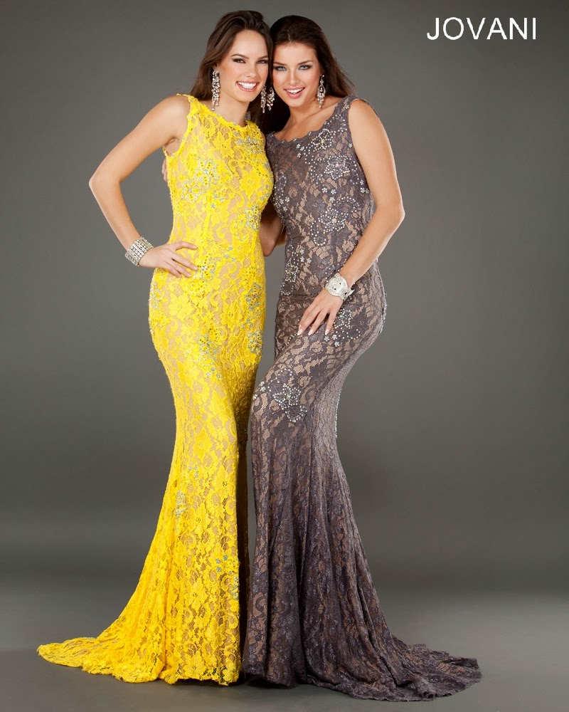 Espectaculares vestidos de graduación 2014