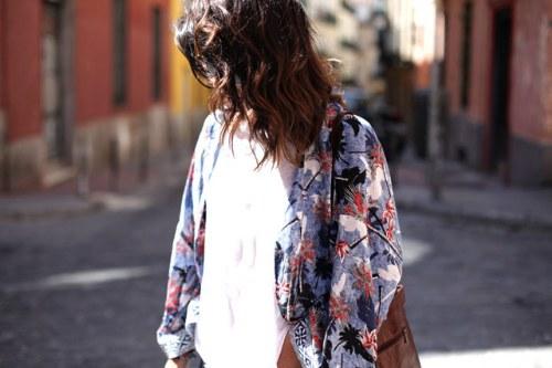chaquetas kimono moda 2014