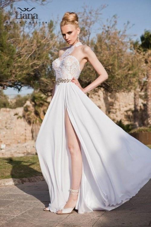 Novias De 2015 Vestidos Hermosa Liana Haute Por 2014 Colección odCexB
