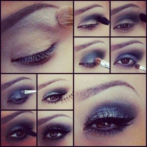maquillaje para ojos profesional tutoriales