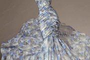 Despampanantes vestidos estampados para fiestas