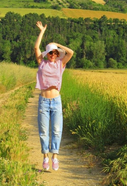outfits sombreros de paja verano