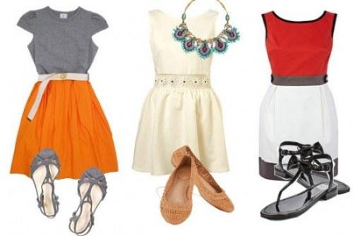 trajes outfits para trabajar en verano