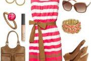 9 Lindos y tiernos Outfits con Vestidos por Polyvore para este Verano