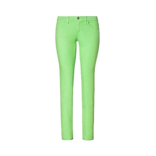 pantalones denim de colores moda 2014