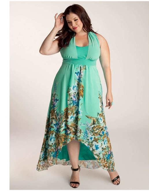 Vestidos atractivos y elegantes de tallas grandes