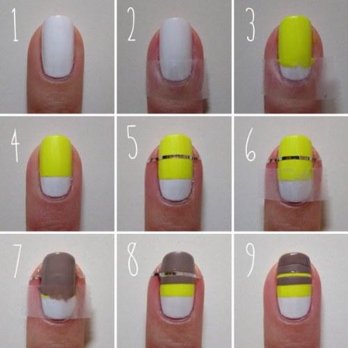 rapidos faciles diseños para uñas tutoriales