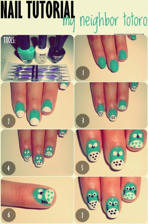Los 10 más fáciles y rápidos lindos diseños de uñas para probar este ...