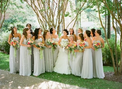 vestidos para damas de honor bodas 2014