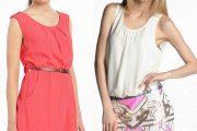 Vestidos cortos de verano, elegantes modelos 2014
