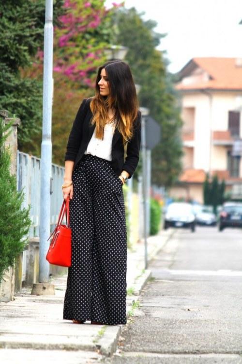 outfits tendencias blanco y negro