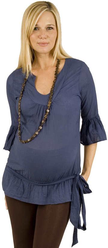 Hermosas blusas de temporada para embarazadas