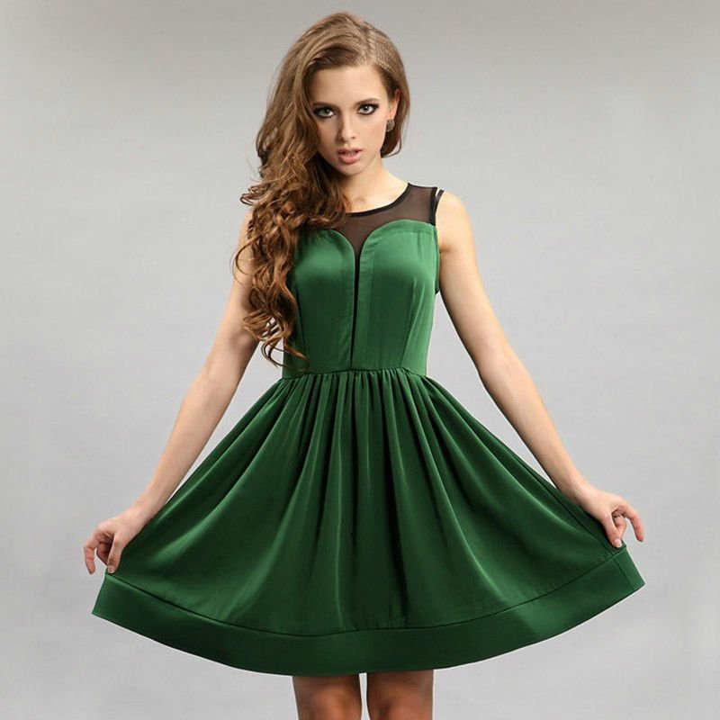 Perfectos vestidos cortos de fiesta: moda 2014