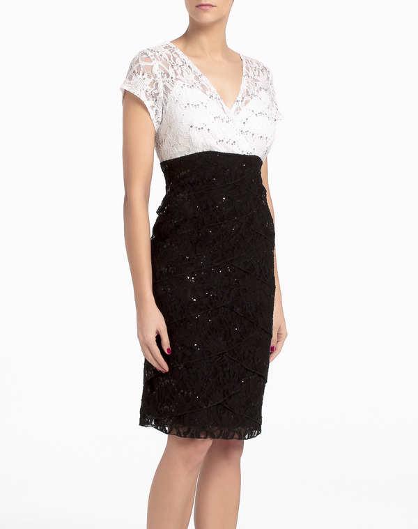 Novedosos vestidos cortos de fiesta 2014