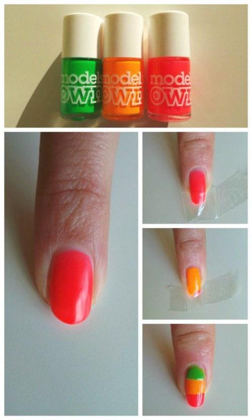 diseños para uñas manicure verano