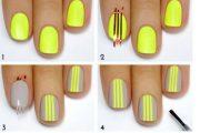 7 Adorables tutoriales de diseños de verano para tus uñas