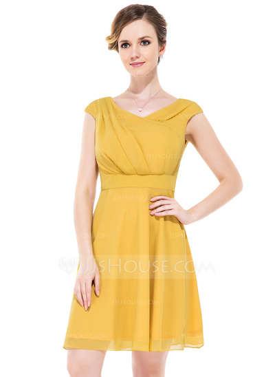 Hermosos vestidos cortos y sencillos para fiestas