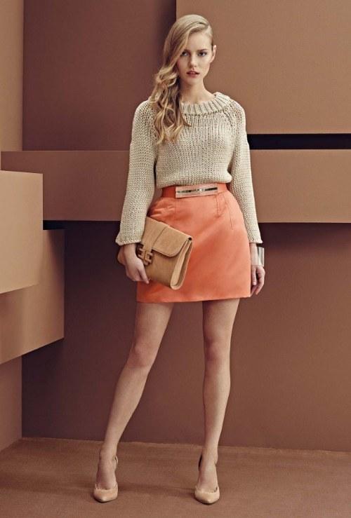 colección atuendos modernos elisabetta franchi 2014 moda italiana