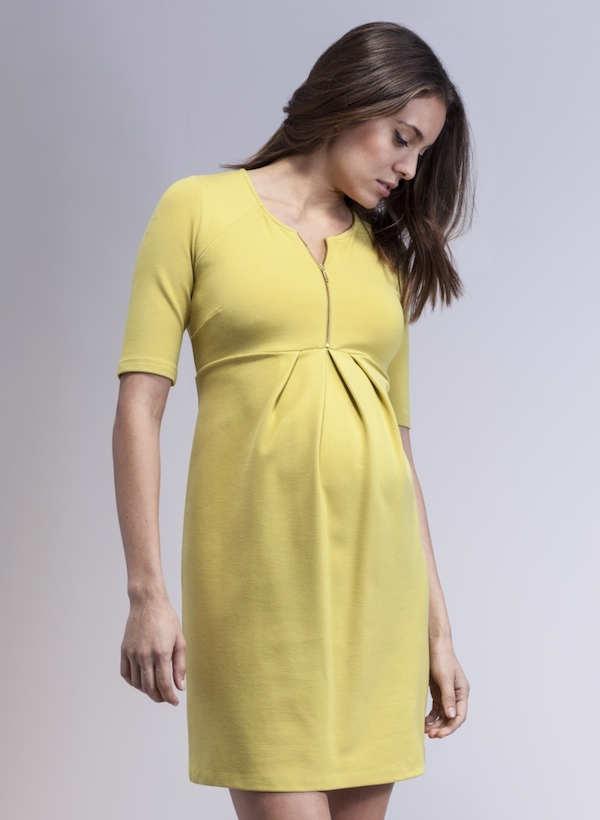 Vestidos modernos de fiesta para embarazadas