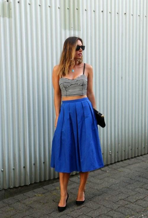 faldas midi moda verano outfits