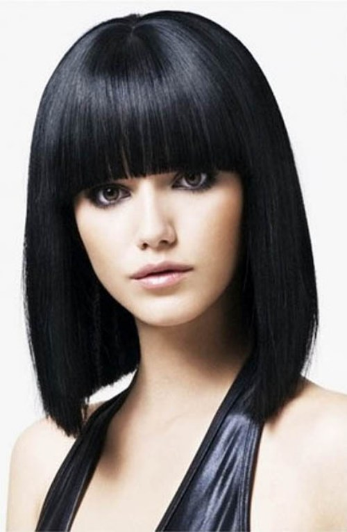 estilos de flequillos para el cabello
