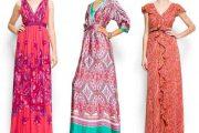 Elegantes y atractivos vestidos floreados para fiestas