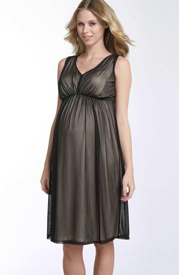 Vestidos elegantes de fiesta para embarazadas de moda